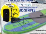 SUP-Board-Set 285 Stripes von Crystalbay