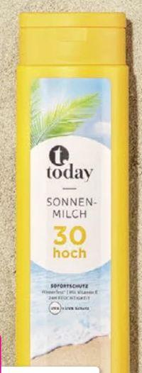 Sonnenmilch LSF 30 von Today