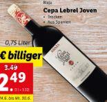 Rioja von Cepa Lebrel