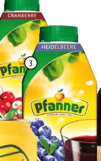 Fruchtsaftgetränk von Pfanner