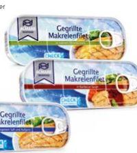 Gegrillte Makrelenstücke von Almare