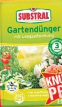 Gartendünger von Substral