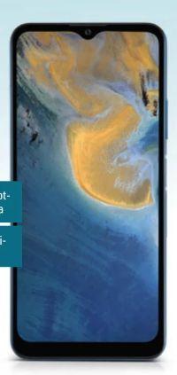 Smartphone Blade A71 von Zte