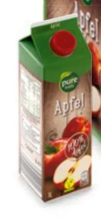 Apfelsaft von Pure fruits