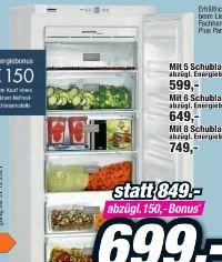 NoFrost Gefrierschrank GNP2713-24 von Liebherr