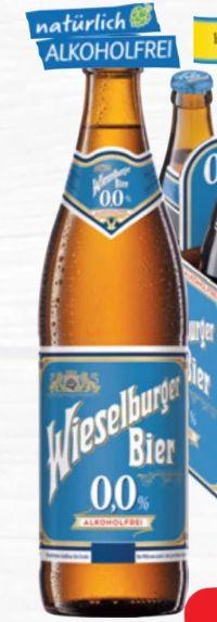 Akoholfrei Bier 0,0% von Wieselburger