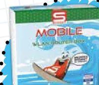 Mobile Wlan-Router-Box Unlimited Internet von S Budget