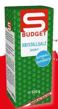 Kristallsalz von S Budget