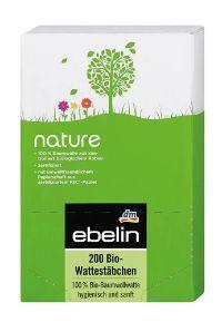 Bio-Wattestäbchen Nature von Ebelin