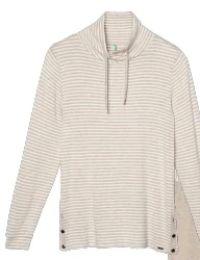 Damen-Sweater Biscuit Stripe von Palmers
