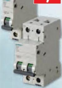 Leitungsschutzschalter von Siemens