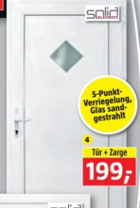 Kunststoff-Haustür T-888-KF04 von Solid Elements