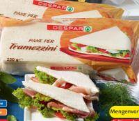 Tramezzini Brot von Despar