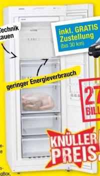 Gefrierschrank GS29NVWEP von Siemens