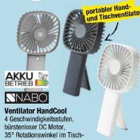 Ventilator HandCool von Nabo