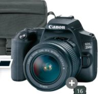 Spiegelreflexkamera-Set EOS 250D von Canon