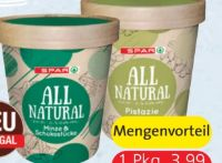 All Natural Ice Cream von Spar