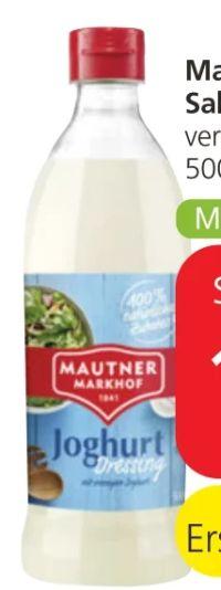 Salat-Dressing von Mautner Markhof