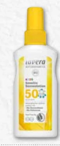 Kids Sensitiv Sonnenlotion LSF50+ von Lavera