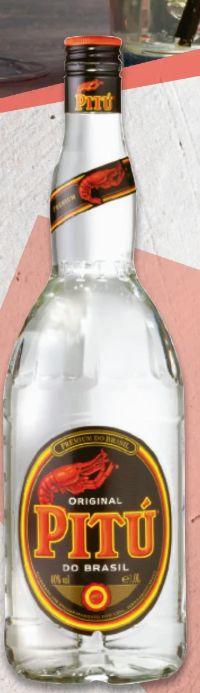 Cachaça von Pitu