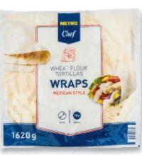 Tortilla Wraps von Metro Chef