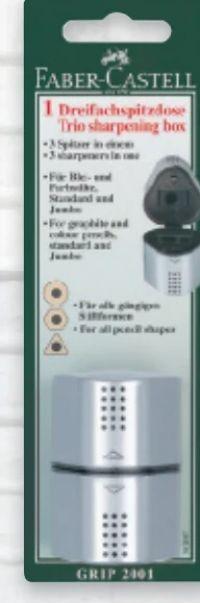 Dreifachdosenspitzer von Faber Castell