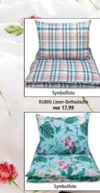 Bettwäsche Bio-Baumwolle von Rubin