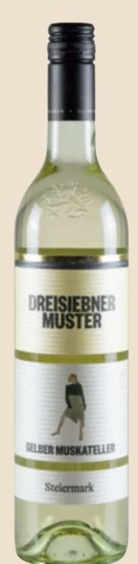 Klassik Gelber Muskateller von Dreisiebner Muster