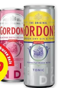 Gin Tonic von Gordon´s