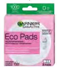 SkinActive Eco Pads Abschminkpads von Garnier