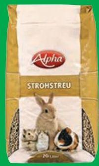 Strohstreu von Alpha