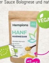 Bio Hanf Harmesan von Hempions