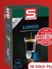 Kapseln Lungo von S Budget