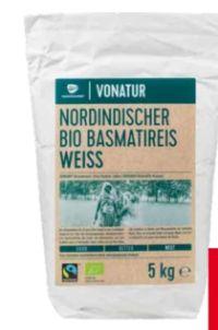 Bio Basmatireis Natur von Vonatur