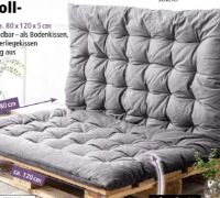 Baumwoll Sitzkissen von Bella Casa