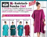 Badetuch-Poncho von Sensino