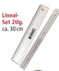 Lineal-Set von Kraft Werkzeuge