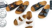 Damen Fußbett-Pantoffel von Rubin
