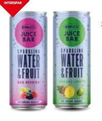 Juicebar Water von Rauch