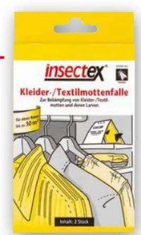 Kleider-Textilmottenfalle von InsectEx