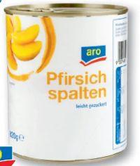 Pfirsichspalten von Aro