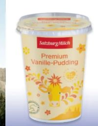 Pudding von Salzburg Milch