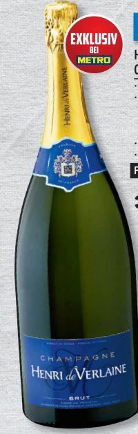 Champagner Brut von Henri de Verlaine