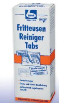Fritteusenreiniger Tabs von Dr. Becher