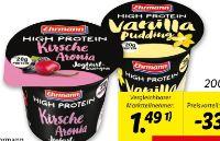 High Protein Joghurt-Pudding von Ehrmann