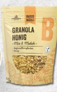 Basismüsli Granola-Honig von Crownfield