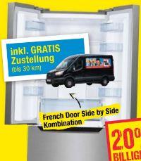 French Door Kühl-Gefrierkombi SBF 2981 von Nabo