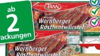 Wernberger-Rostbratwürstel von Tann