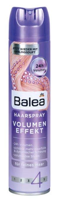 Haarspray Volumen Effekt von Balea