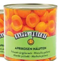 Aprikosen Hälften von Happy Frucht
